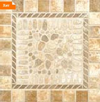 Напольная плитка Помпей бежевый 33х33