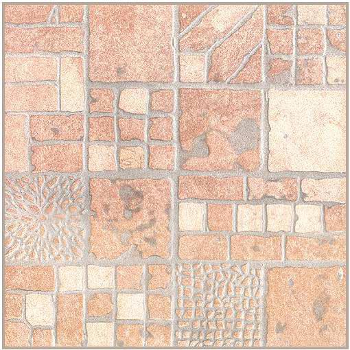 Напольная плитка Сицилия коричневый 33х33