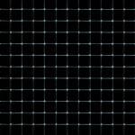 Мозаика стеклянная, чёрный
