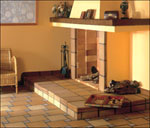 Клинкерные ступени и плитка Peldano Recto Natural T4 25х33