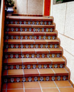 Клинкерные ступени и плитка Peldano Recto Natural T4 33х33