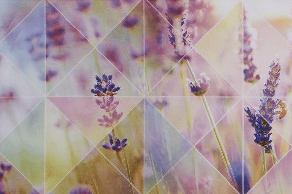 Керамическая плитка Лаванда роз верх 02 1 20х30