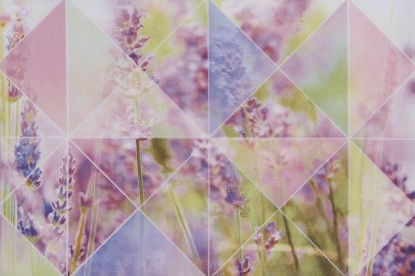 Керамическая плитка Лаванда роз верх 02 2 20х30