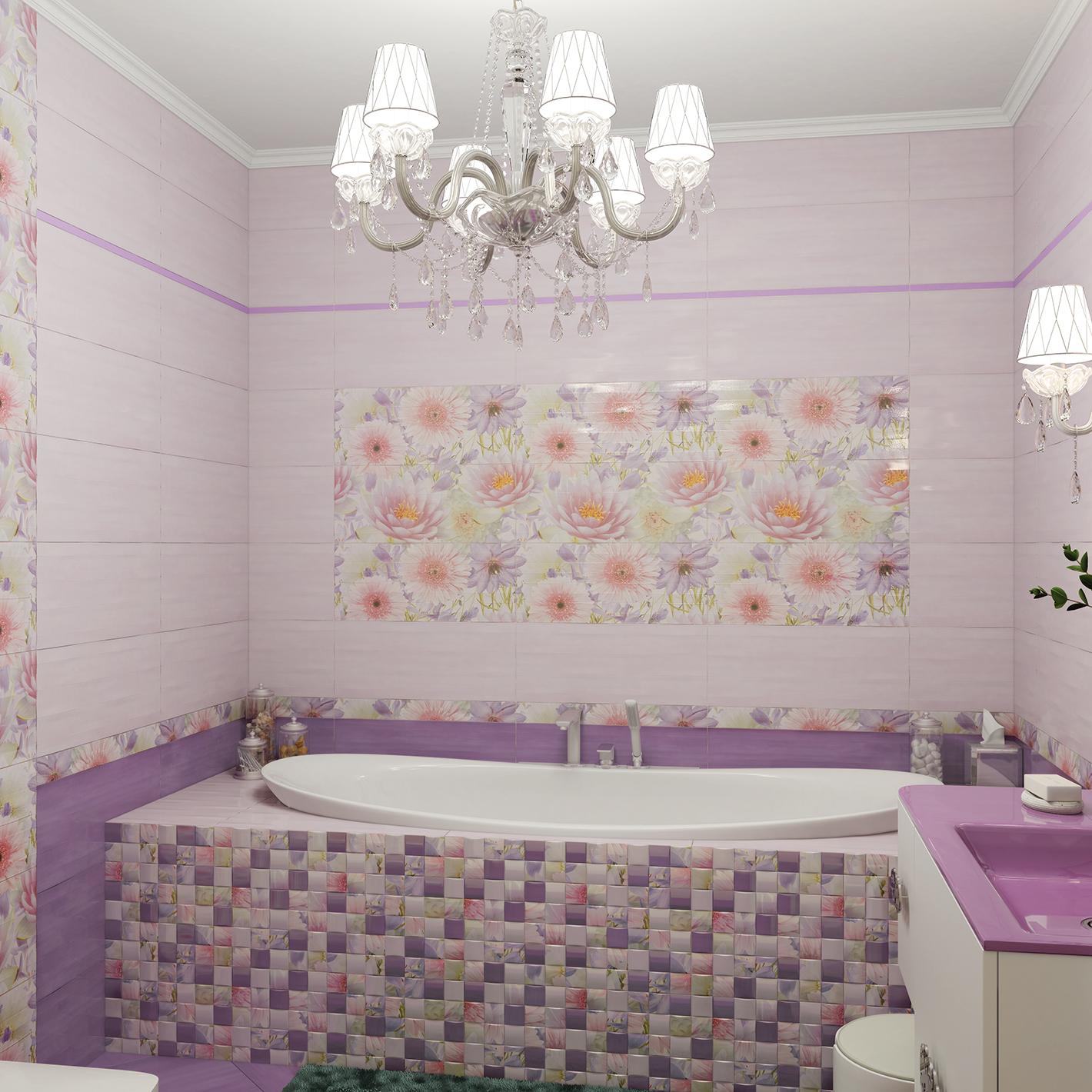 Интерьер плитка Aquarelle 25х60