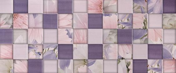 Настенная плитка Aquarelle lilac wall 03 25х60