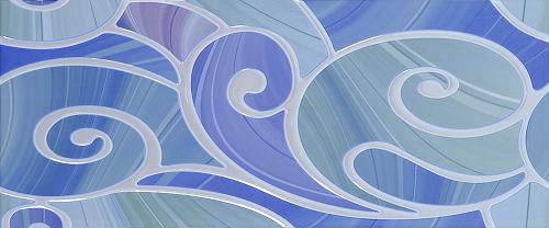 Декор Arabeski blue