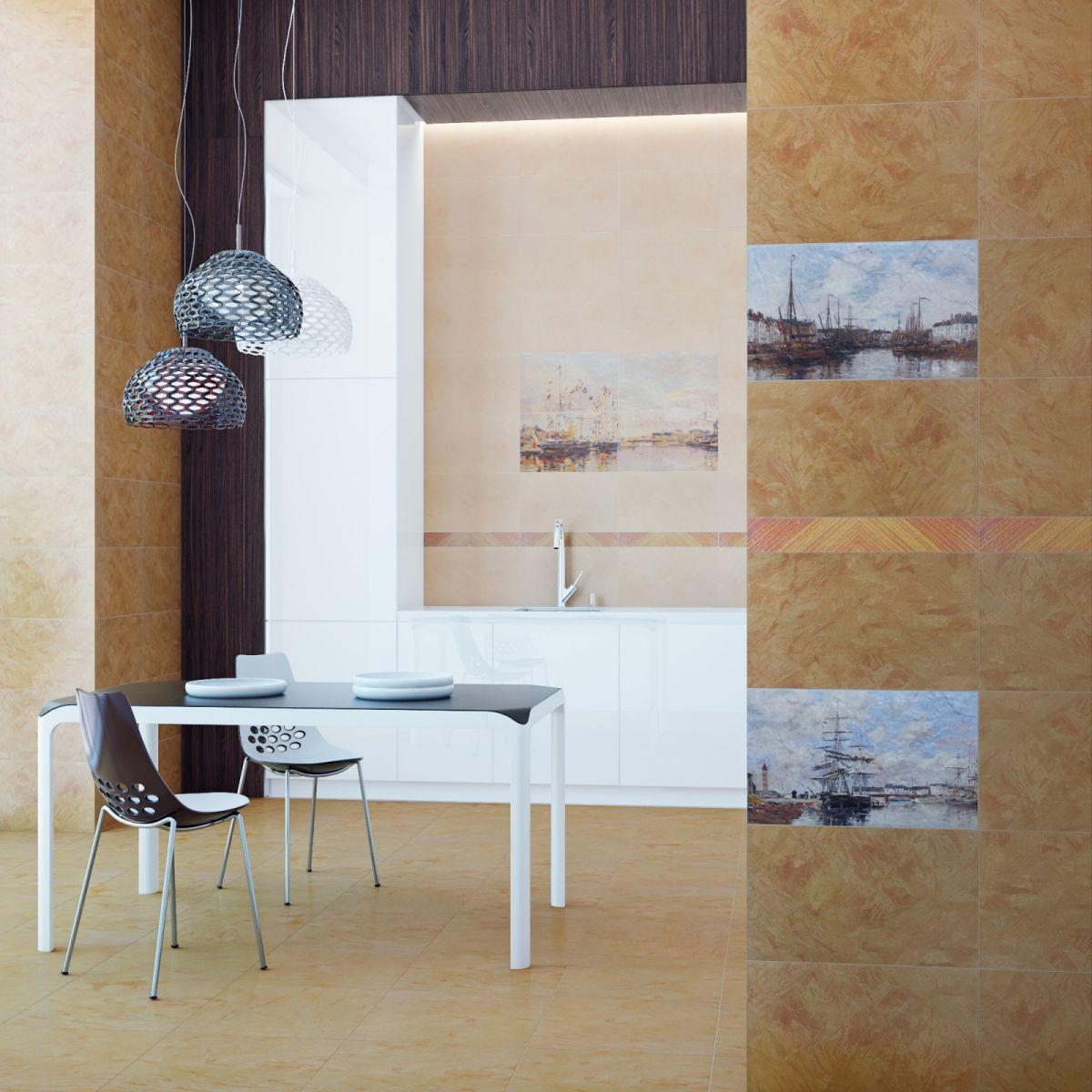 Интерьер плитка   Normandie beige 30х50