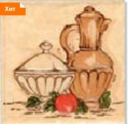Керамическая плитка Афина декор 10х10