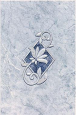 Керамическая плитка Бернардо декор 20х30
