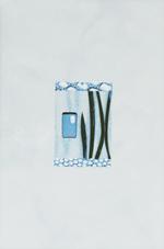 Коллекция плитка для ванной комнаты Каррара голубой 20х30