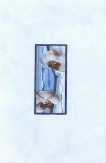 Керамическая плитка Каррара декор цветущая сакура 20х30