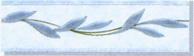 Керамическая плитка Каррара бордюр ветка 5,7х20