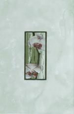 Коллекция плитка для ванной комнаты Каррара зелёный 20х30