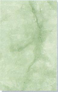 Керамическая плитка Каррара зелёная 20х30