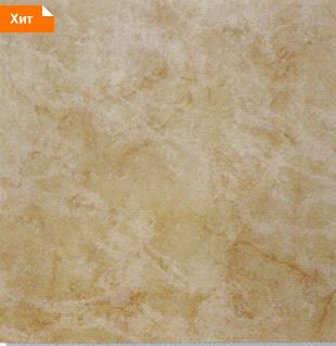 Керамическая плитка Каррара палевая напольная 33х33