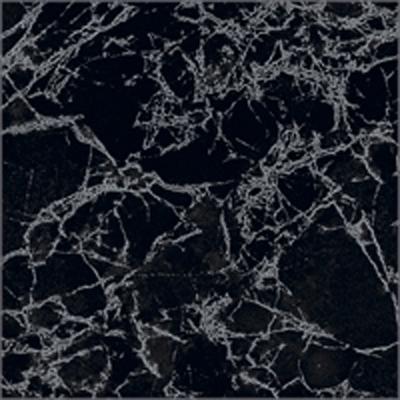 Напольный керамогранит Фабрицио чёрный 33х33