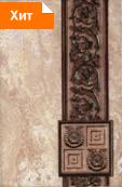 Коллекция плитка для ванной комнаты Иберия коричневый 20х30