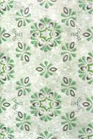 Керамическая плитка Кодры декор зелёный 20х30