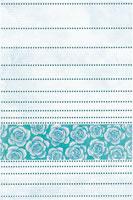 Керамическая плитка Муаре бирюзовая декор 33х33