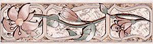 Керамическая плитка Севан бордюр 5,8x20