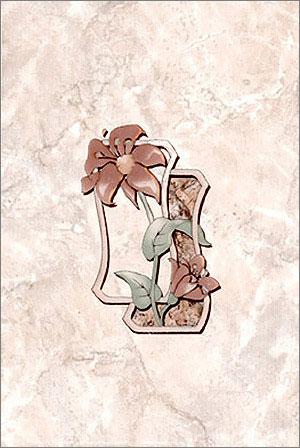Керамическая плитка Севан декор 20х30