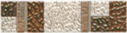 Керамическая плитка Каменный цветок бордюр 6,5х25
