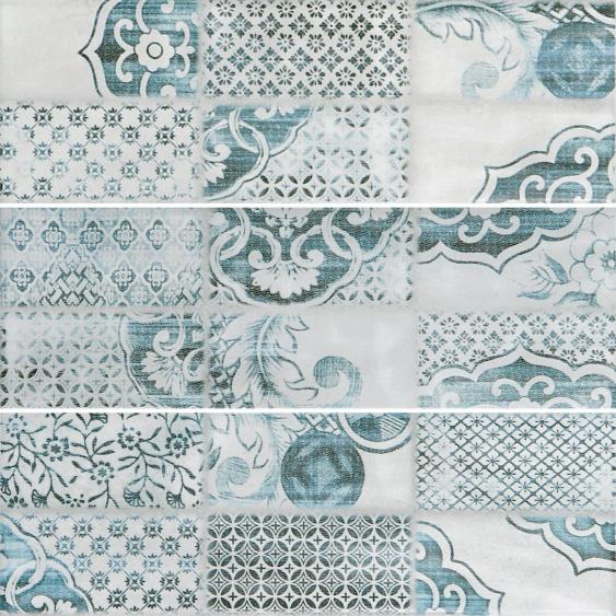 Настенная плитка Caspian grey wall 02 10х30