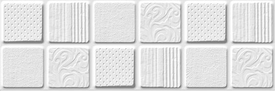 Настенная плитка Provenza white wall 01 10х30