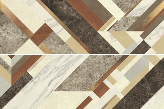 Настенная плитка Tempo beige wall 01 25х75