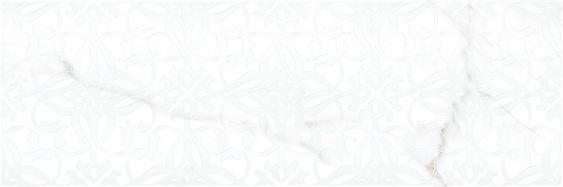 Настенный декор Velutti white decor 01 25х75