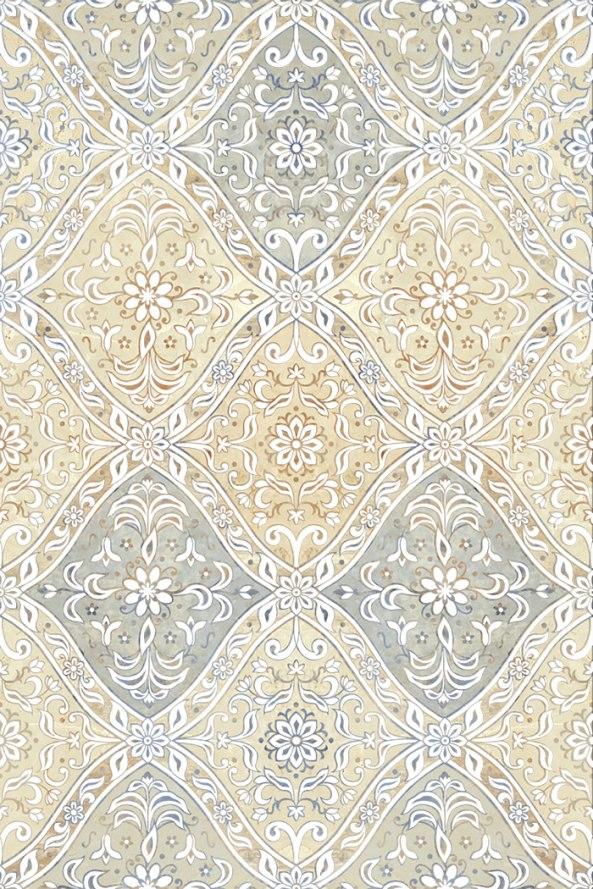 Керамическая плитка Ориентал беж декор 01 20х30
