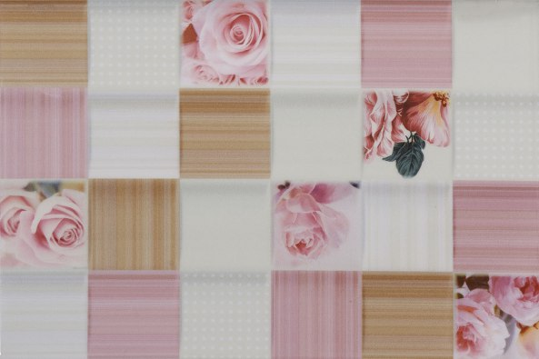 Керамическая плитка Романтика роз низ 03 2 20х30