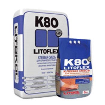 Эластичный плиточный клей LITOFLEX K80